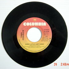 ONE 1976'S 45 R.P.M. RECORD, TINA CHARLES, DANCE LITTLE LADY DANCE + HEY BOY