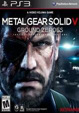 Metal Gear Solid V : Ground Zeroes (Sony Playstation 3) BRAND NEW