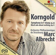Marc Albrecht, E.W. - Symphony in F/ Much Ado About Nothing [New SACD]