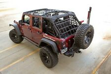 Rugged Ridge Cargo Net 07-15 Jeep Wrangler JK Unlimited 4 Door 13552.71 Black