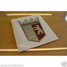 TABBERT - (RESIN DOMED) - Caravan Crest Sticker Decal Graphic - SINGLE