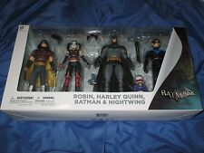BATMAN ARKHAM CITY (ORIGINS) DC Collectibles Figure Set ~Harley Quinn/Nightwing