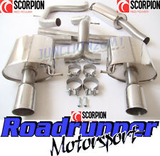 Scorpion Mondeo 2.5 Turbo MK4 Exhaust System Stainless Cat Back (Hatch) SFD070