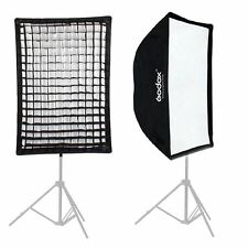 Godox 60x90cm Rectangle Umbrella Softbox with Honeycomb Grid For Flash Speedlite
