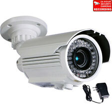 "Outdoor Security Camera IR Day Night 700TVL 42 LEDs with 1/3"" Sony Effio CCD btz"