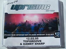 UPRISING - 12.02.05 - 10th BIRTHDAY PARTY - TOPGROOVE & KENNY SHARP CD