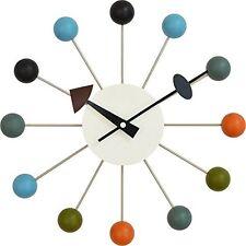 George Nelson Desien Ball Clock [Art clock pop color (ball clock) diameter 33cm
