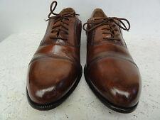 men's brown Giorgio Brutinini cap toe oxfords size 10 D