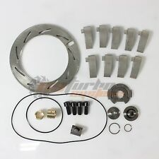 6.0L Powerstroke 6.6L Duramax GT37V Turbo Repair Rebuild kit+Unison Ring+9Vanes