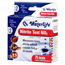 WATERLIFE NITRITE WATER FISH TANK TEST KIT NO2 75 TESTS