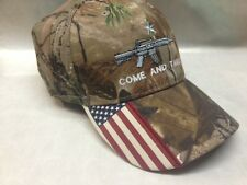 Come And Take It Rifle Weapon AR15 2nd Amendment Star Gun Cap Hat American Flag