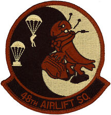 USAF 48th AIRLIFT SQUADRON DESERT PATCH