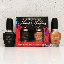 CUCCIO Veneer Match Makers - HOLY TOLEDO 6033 Gel & Nail Lacquer Duo Kit