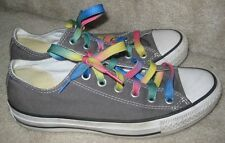 Converse CT All Star Ox Charcoal Canvas Sneakers  (1J794) Low Top Sz Men 5