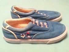Girls-Nautica-shoes-Size 12-pink&blue shoes