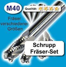 Rough-herramienta de corte frase, 6+8+10+12mm fresa de acabado HPC acero inoxidable plástico MDF