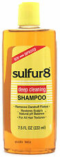 SULFUR8 MEDICATED DEEP CLEANSING SHAMPOO FOR DANDRUFF & FLAKES 7.5 FL.OZ.