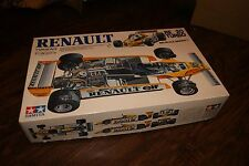 NEW RENAULT ELF CAR RE 20 TURBO 1:12 SCALE MODEL BIG SCALE SERIES TAMIYA NO. 24