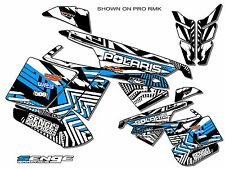 2010 2011 2012 2013 2014 POLARIS RUSH GRAPHICS KIT DECO WRAP DECOR SKY BLUE