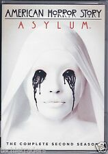 American Horror Story: Asylum - Complete Second Season 2 (DVD, 2013, 4-Disc...