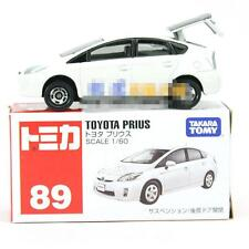NEW Takara Tomica Tomy #89 TOYOTA PRIUS White Scale 1/60 Diecast Toy Car Japan Z