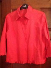 Ladies Next red shirt. size 12