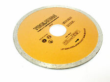 "115MM/ 4-1/2"" Continuous Rim Diamond Cutting Disc for Angle Grinder TZ AB039 New"