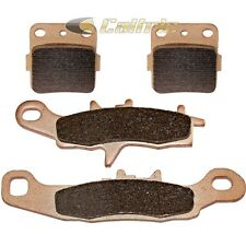 FRONT & REAR BRAKE PADS FITS KAWASAKI KX85 Large Wheel 2001-2014