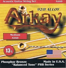 Arkay Phosphor Bronze Acoustic Guitar Strings PB13-56 (2 sets)