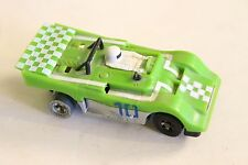 Vintage 1977 HO Scale Ideal TCR Pro Am Jam Car Race Slot Green Antique Toy Old
