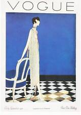 ART DECO Vogue Magazine Cover Early Sept 1925....Quality Bookprint