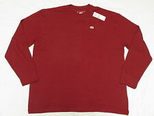 NWT Mens Ecko Unltd Left Chest Solid Thermal Shirt Tee Red Urban 3XL XXXL L361