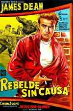 Film Rebel Without A Cause 07 A3 Box Canvas Print