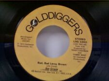 "JIM CROCE ""BAD BAD LEROY BROWN / I'LL HAVE TO SAY I LOVE YOU IN A SONG"" 45 OLDIE"