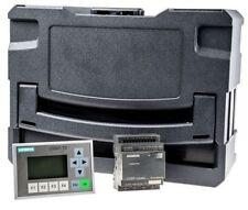 Siemens LOGO! TD Starter Kit + Display, 8 x Input, 4 x Output, 12-24 V dc- New