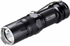 Nitecore SRT3 Defender 550-Lumen Multi-Color LED Flashlight Compact Tactical