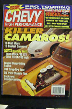 CHEVY HIGH PERFORMANCE MAGAZINE APRIL 1998 CORVETTE INDY PACE LS1 CAMARO IMPALA
