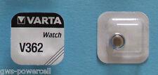 2 x VARTA Batterie V362 V 362 1,55 SR721SW SR58SW SR721 Uhrenbatterie Knopfzelle