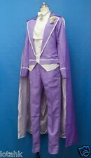 Sailor Moon Tuxedo Mask Purple Ver Cosplay Costume Custom Made    Lotahk