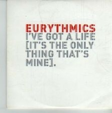 (CV685) Eurythmics, I've Got A Life (It's The Only Thing That's Mine) - DJ CD