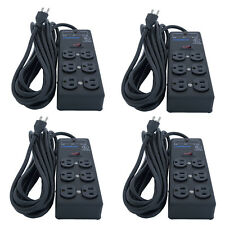 4 Units Furman SS-6B Pro Plug 6 Outlet AC Surge Power Strip Conditioning