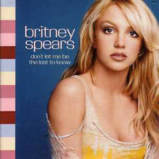 ★☆★ CD Single Britney SPEARS Don't let me be the last to know 2-Track CARDSL ★☆★