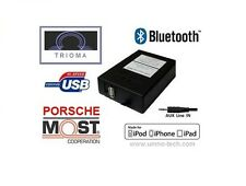 Porsche 911,boxter, PCM 2.0/2.1, most USB mp3 aux Bluetooth Interface trioma