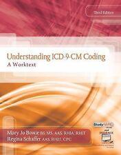 Understanding ICD-9-CM Coding : A Worktext by Bowie & Schaffer (2011, Spiral)