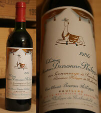1986er Chateau Mouton Baronne Philippe Rothschild - Pauillac - Top Jahrgang !!!!