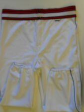 NOS Vtg 80s Athtex Men's Baseball Pants Adult X-Large White Red Black USA!