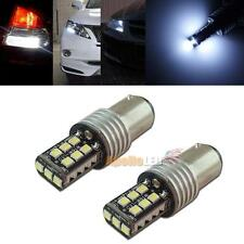 2pcs Error Free 1157 2357 15-SMD LED Bulbs For Signal DRL Parking Lights #87