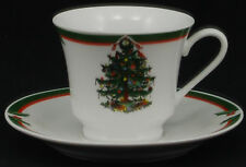 Pacific Rim Christmas Tree Cup and Saucer