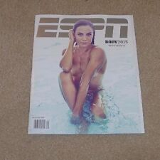 ESPN MAGAZINE 2015 THE BODY ISSUE NATALIE COUGHLIN NEVER READ NEW FREE BAG RARE