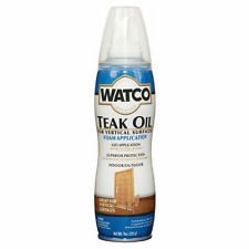Watco TEAK OIL Foam Application Superior Protection For Vertical Surfaces 255g